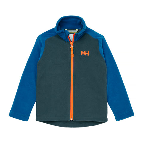 Helly Hansen Kids Daybreaker Fleece Jacket (Slate)-Little Adventure Shop