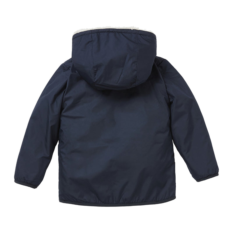 Helly Hansen Kids Champ Reversible Jacket (Navy)-Little Adventure Shop
