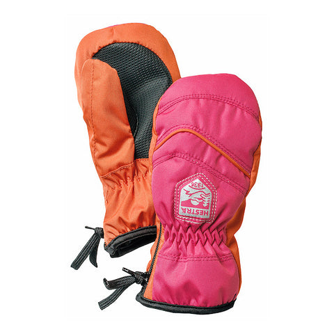 Hestra Baby Zip Primaloft Mittens (Fushia)-Little Adventure Shop