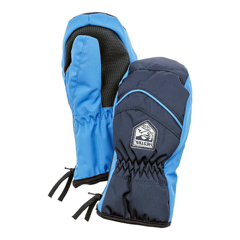 Hestra Baby Zip Primaloft Mittens (Navy)-Little Adventure Shop