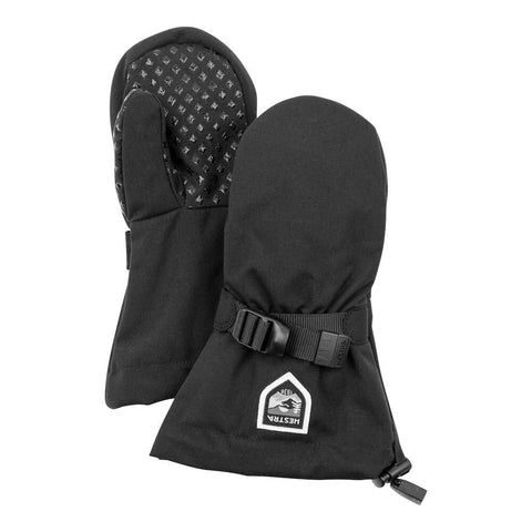 Hestra Fjellvott Jr Kids Mittens (Black)-Little Adventure Shop