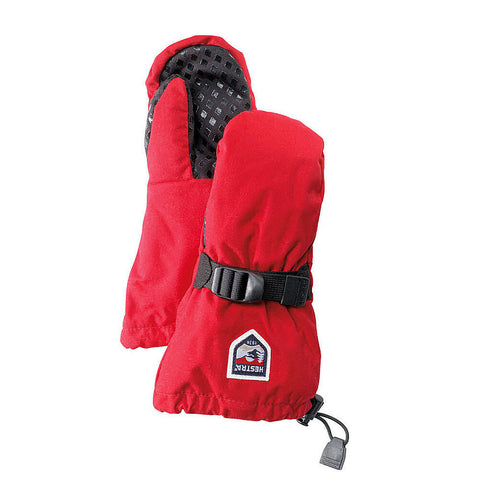 Hestra Fjellvott Jr Kids Mittens (Red)-Little Adventure Shop