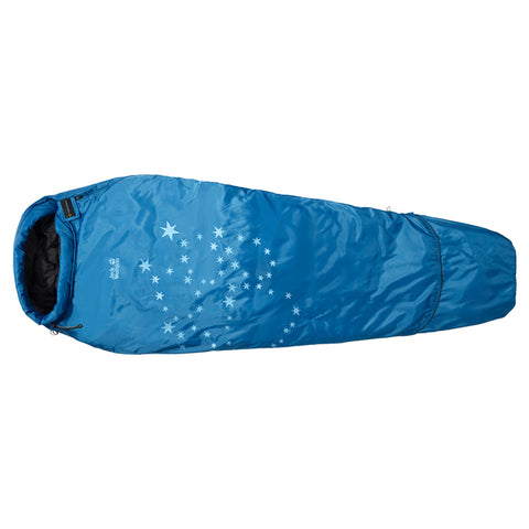 Jack Wolfskin Grow Up Star Extendable Kids Sleeping Bag-Little Adventure Shop