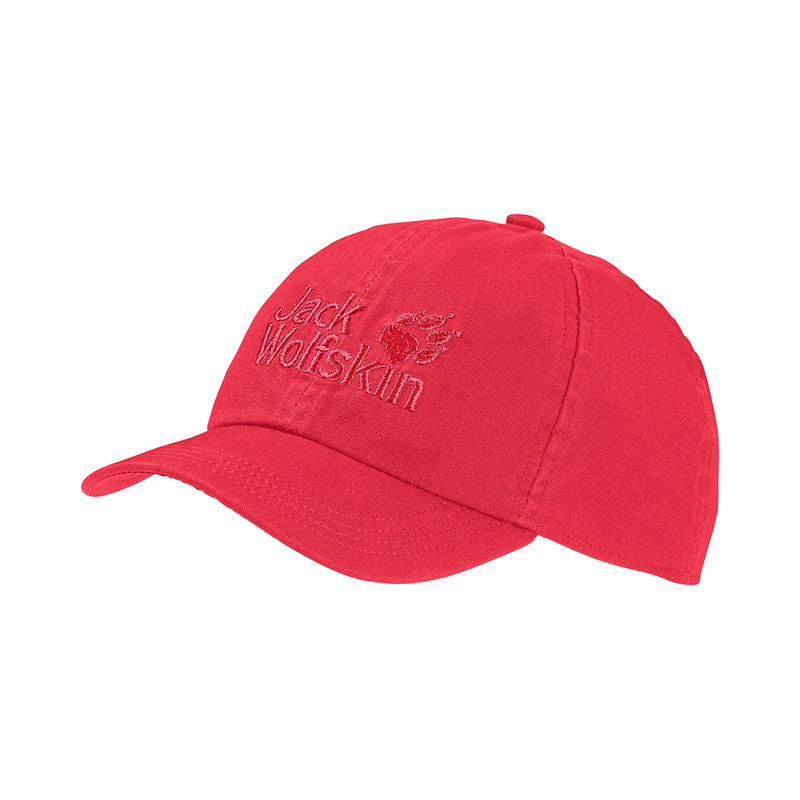 Jack Wolfskin Kids Baseball Cap (Tulip)-Little Adventure Shop