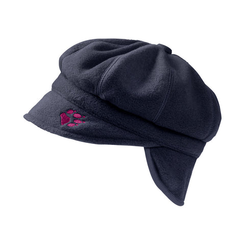 Jack Wolfskin Kids Balloon Fleece Cap (Midnight Blue)