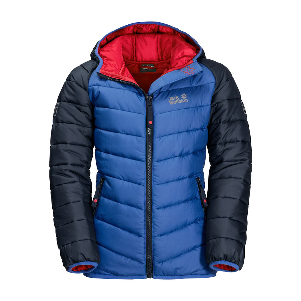 Jack Wolfskin Kids Zenon Jacket (Coastal Blue)-Little Adventure Shop
