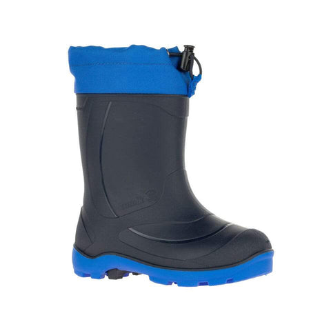 Kamik Snobuster Waterproof Winter Boots (Navy)-Little Adventure Shop