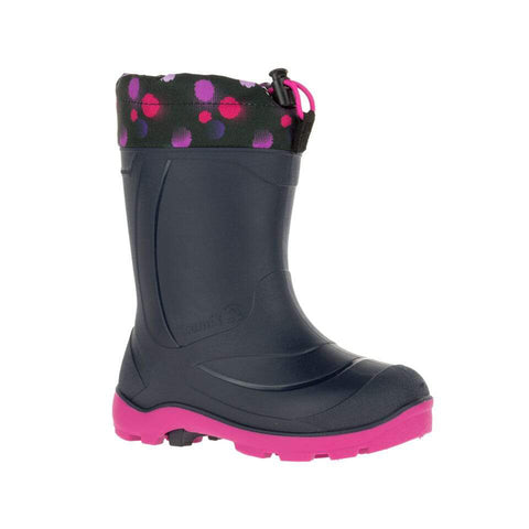 Kamik Snobuster Waterproof Winter Boots (Magenta)-Little Adventure Shop