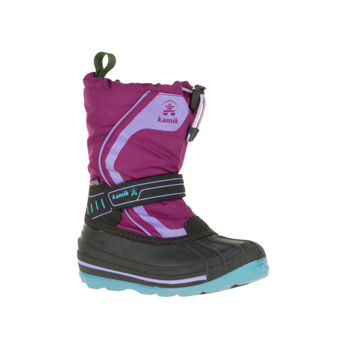 Kamik Snowcoast 4 Snow Boots (Plum)-Little Adventure Shop