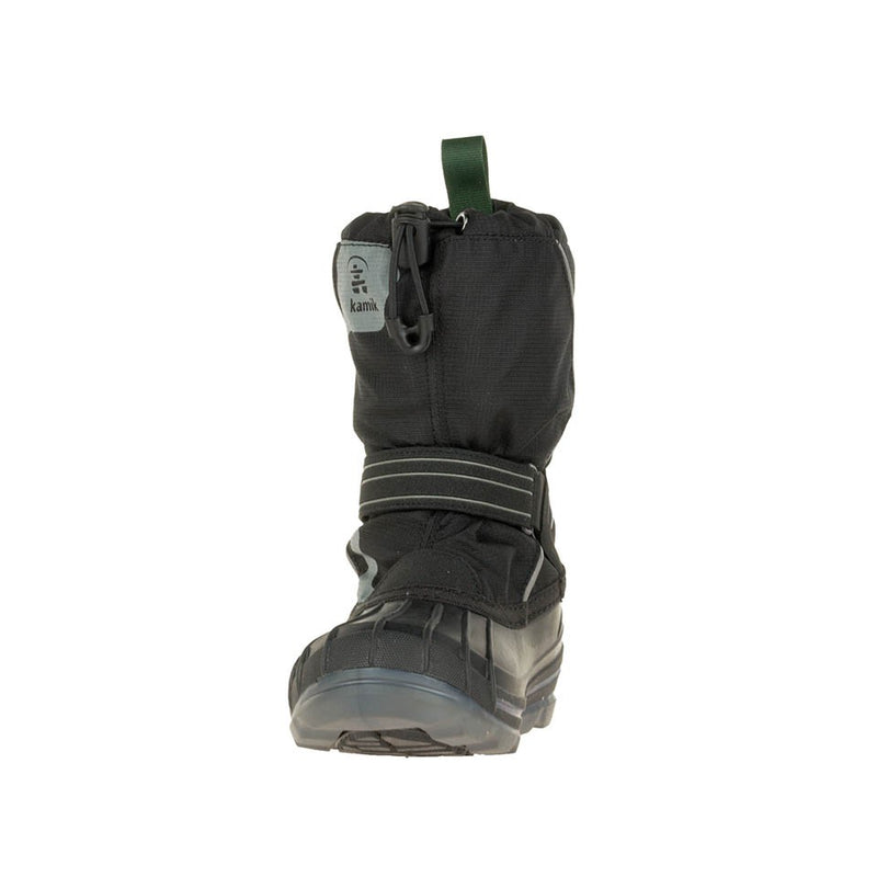 Kamik Snowcoast 4 Snow Boots (Black)-Little Adventure Shop