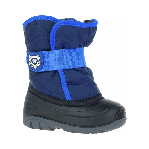 Kamik Toddler Snowbug Snow Boots (Navy)-Little Adventure Shop