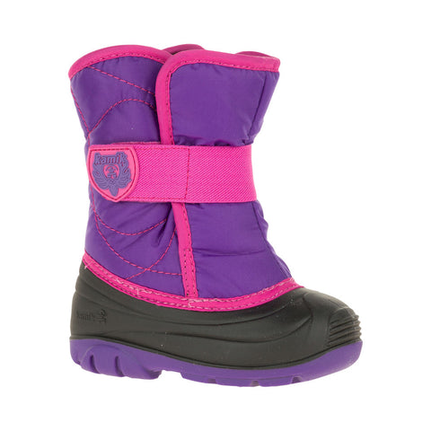 Kamik Toddler Snowbug Snow Boots (Purple)-Little Adventure Shop