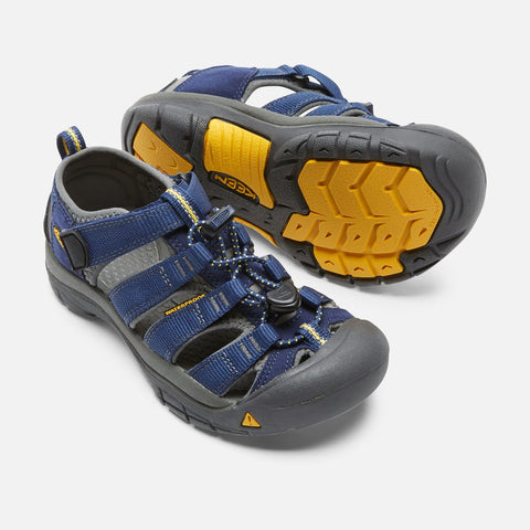 Keen Kids Newport H2 Sandals (Blue Depths)-Little Adventure Shop