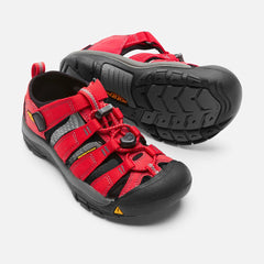 Keen Kids Newport H2 Sandals (Ribbon Red)