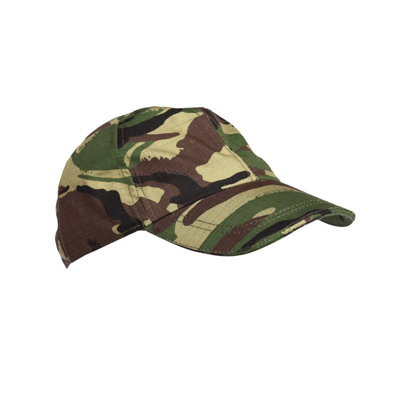 Kids Camo Baseball Cap-Little Adventure Shop