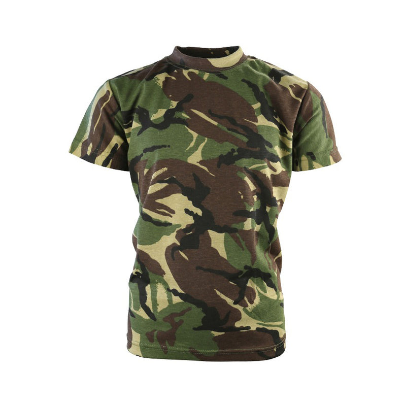 Kids Camo T-Shirt-Little Adventure Shop