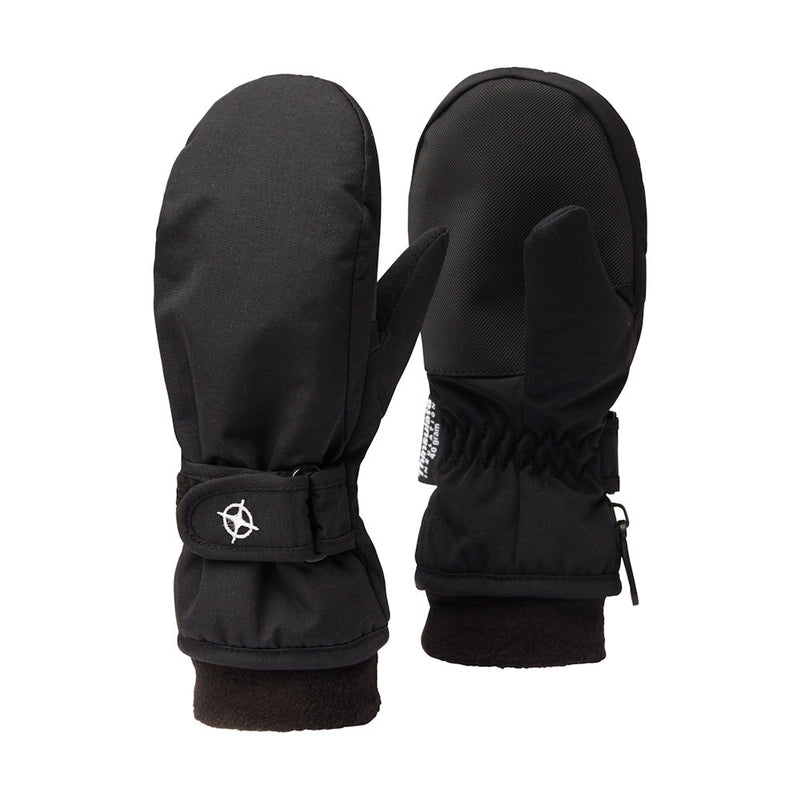 Kids Snowpaw Mittens (Black)-Little Adventure Shop