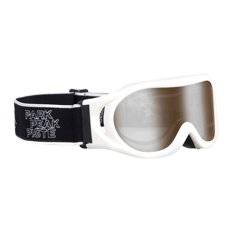 Kids' Whizz Goggles (White)-Little Adventure Shop