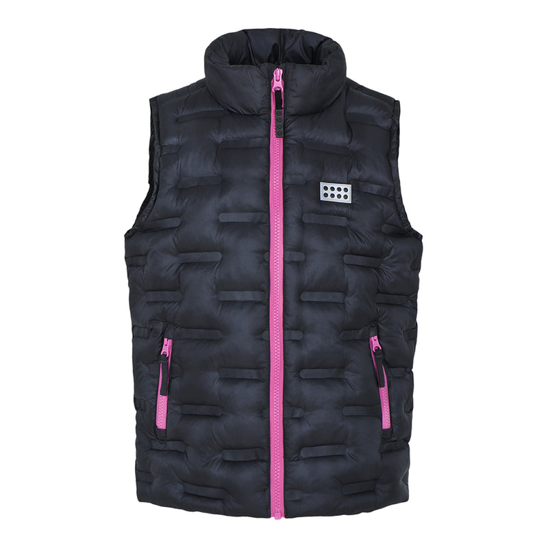 Lego® Wear Kids Insulated Vest (Dark Grey)-Little Adventure Shop