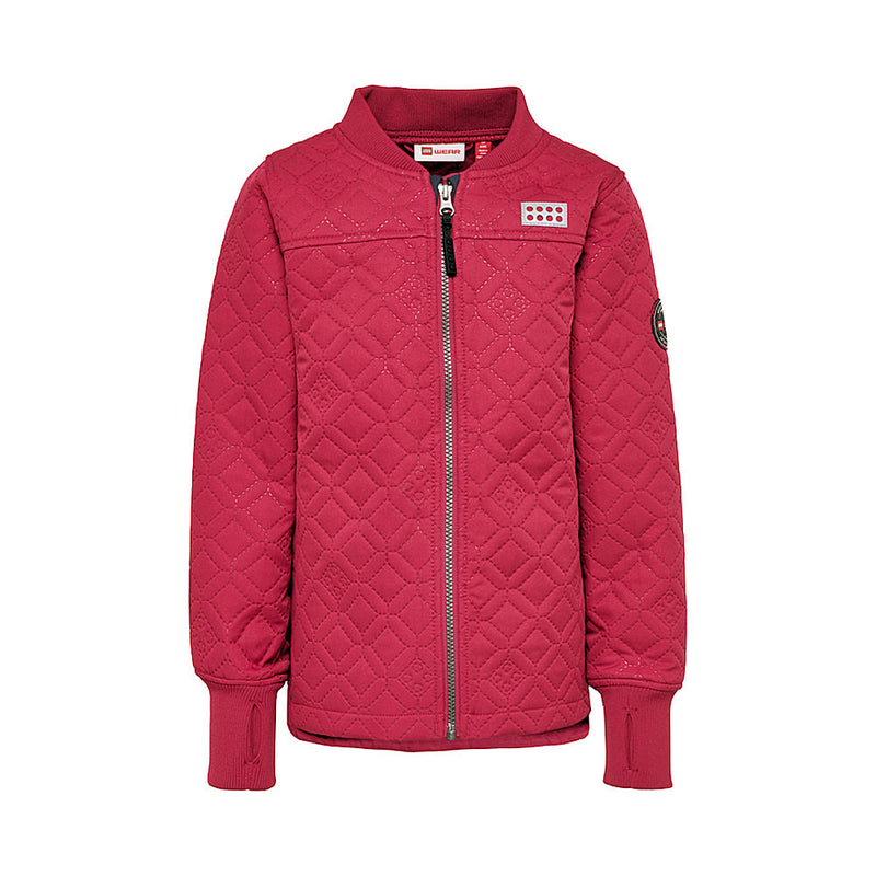 Lego® Wear Girls Thermo Jacket (Bordeaux)-Little Adventure Shop