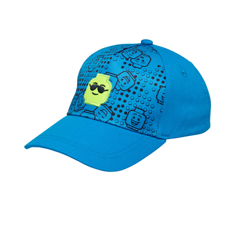 Lego Wear - Lego Head Cap (Blue)-Little Adventure Shop