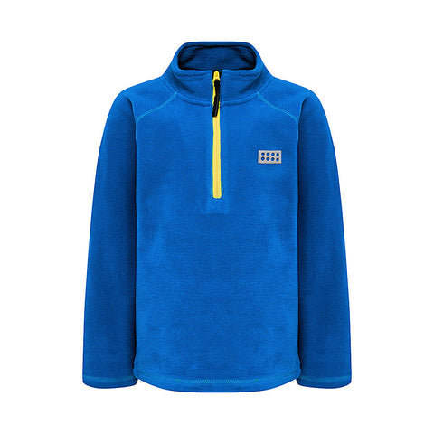 Lego® Wear Kids Fleece Jumper (Blue)-Little Adventure Shop