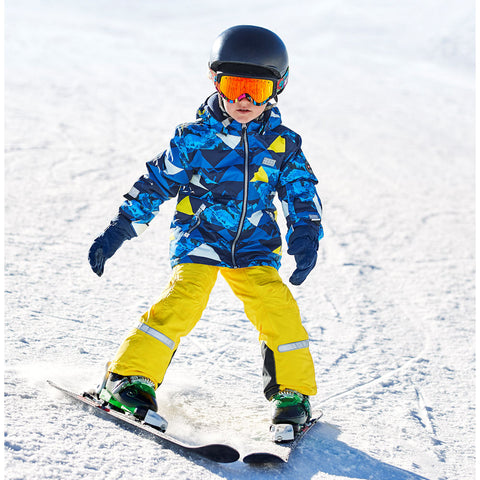 Lego® Wear Tec Kids Ski Pants (Yellow)-Little Adventure Shop