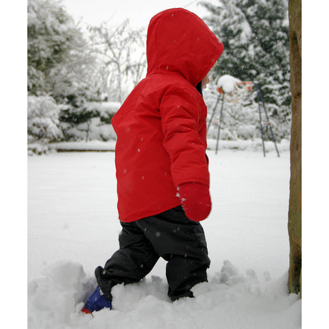 Little Buffalo Kids Winter Trousers (Red)