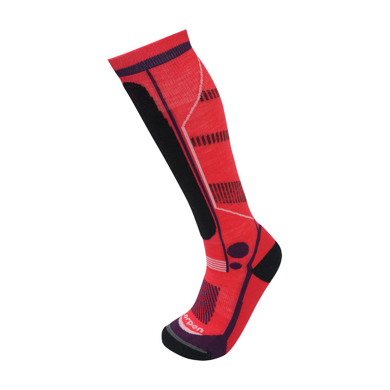 Bridgedale Junior Ski Mountain Socks (Berry)