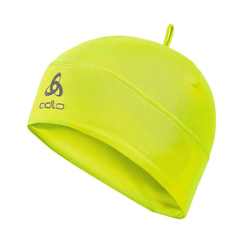 Odlo Kids Polyknit Hat (Safety Yellow)-Little Adventure Shop