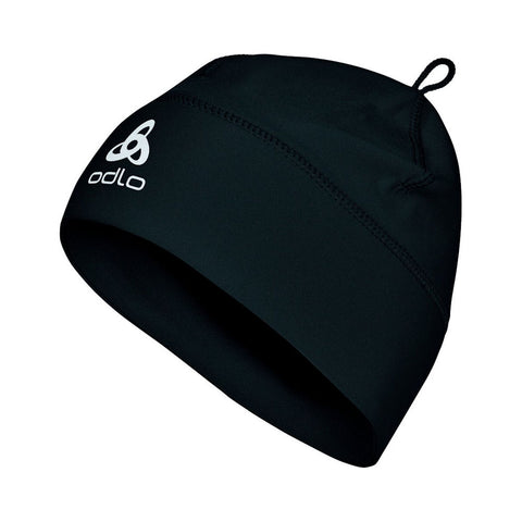 Odlo Kids Polyknit Hat (Black)-Little Adventure Shop