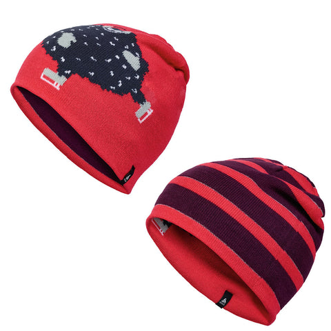 Odlo Kids Fun Reversible Beanie (Pickled Beet)