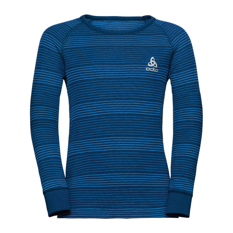 Odlo Kids Thermal Set (Director Blue)-Little Adventure Shop