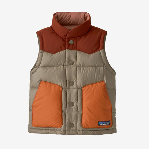 Patagonia Baby Bivy Down Vest (Garden Green)-Little Adventure Shop