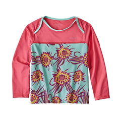 Patagonia Baby Little Sol Rashguard (Cereue Flower)