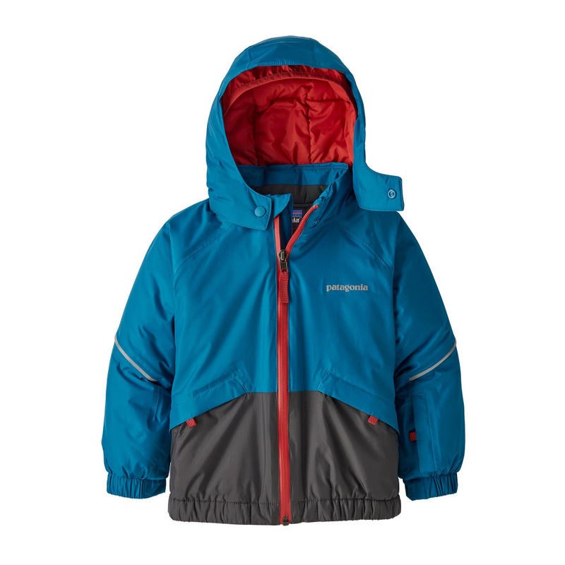 Patagonia Baby Snow Pile Jacket (Balkan Blue)-Little Adventure Shop