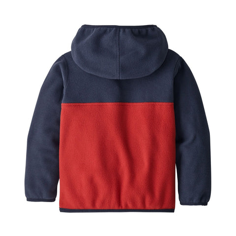 Patagonia Baby Micro D Snap-T Jacket (Fire)-Little Adventure Shop