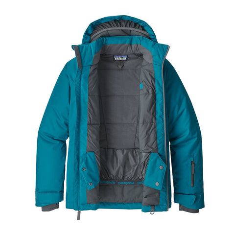 Patagonia Boys Snowshot Ski Jacket (Balkan Blue Forge)-Little Adventure Shop