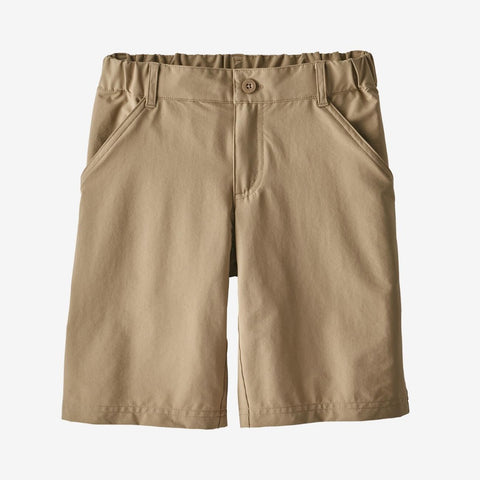 Patagonia Boys' Sunrise Trail Shorts (Mojave Khaki)-Little Adventure Shop