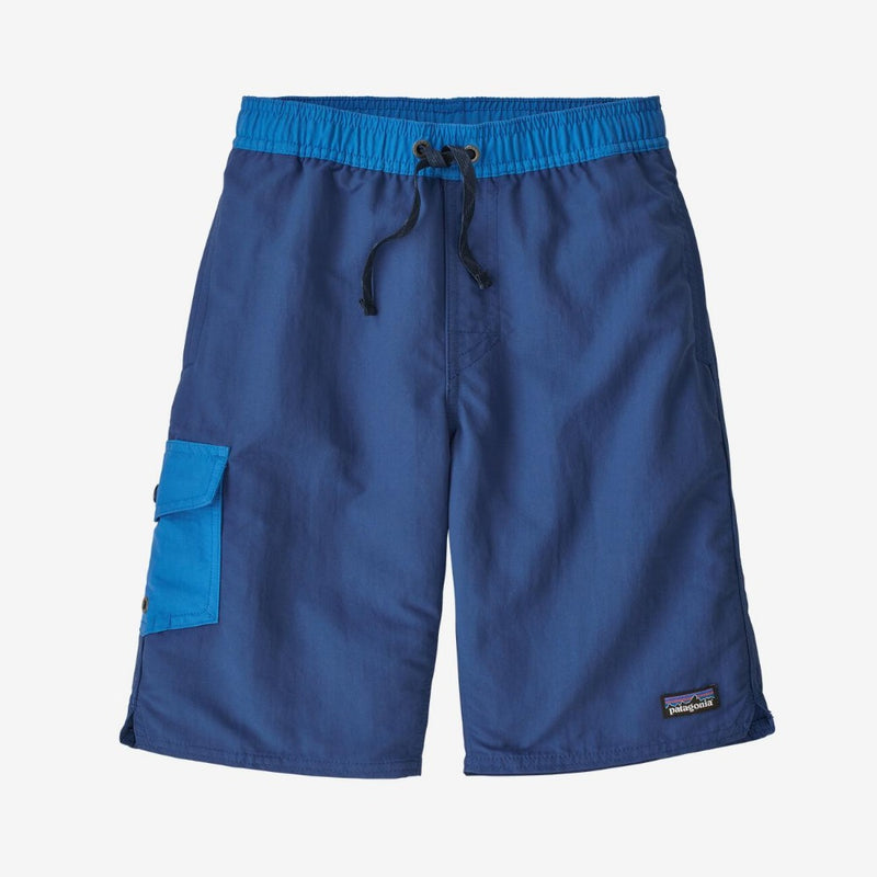 Patagonia Boys' Baggies™ Boardshorts (Superior Blue)-Little Adventure Shop