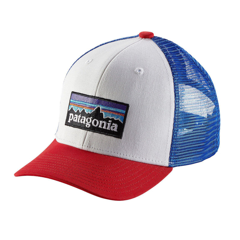 Patagonia Kids Trucker Hat (P-6 White)-Little Adventure Shop
