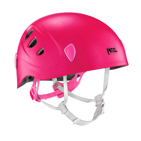 Petzl Picchu Childrens Climbing and Bike Helmet (Raspberry)