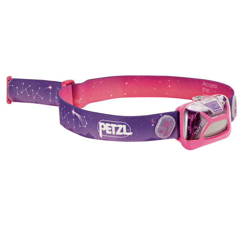 Petzl Tikkid Kids Headtorch (Purple)-Little Adventure Shop
