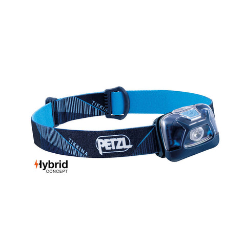 Petzl Tikkina Headtorch (Blue)-Little Adventure Shop