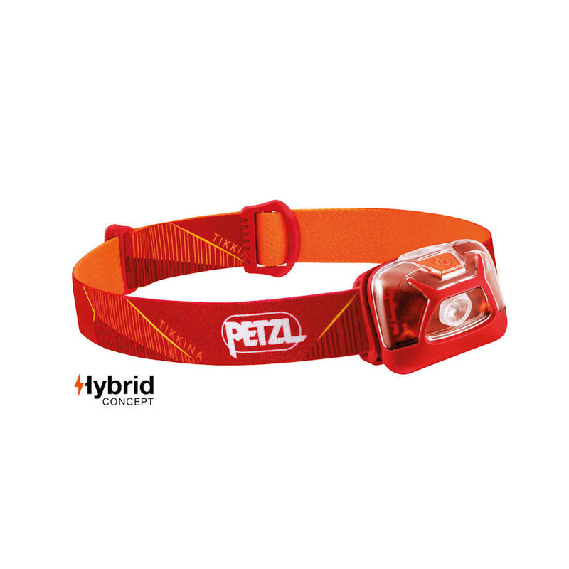 Petzl Tikkina Headtorch (Red)-Little Adventure Shop