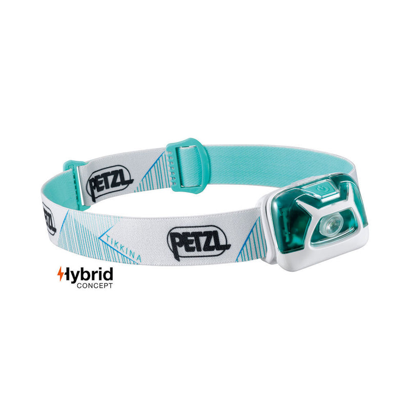 Petzl Tikkina Headtorch (Aqua)-Little Adventure Shop