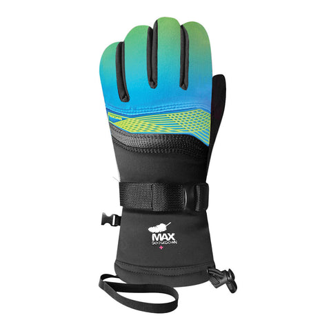 Racer ML200 Goose Down Ski Gloves (Lime)-Little Adventure Shop