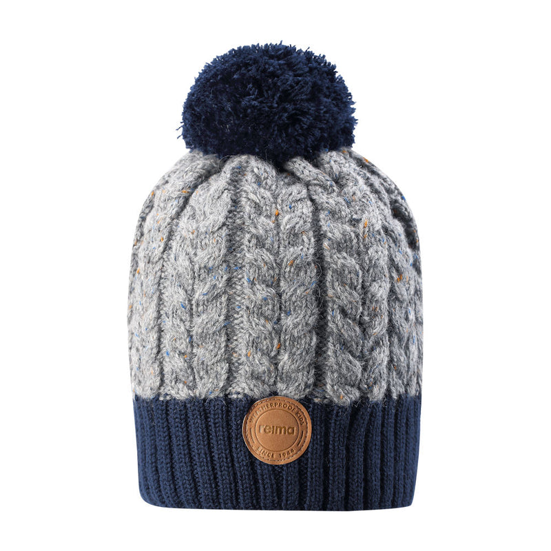 Reima Kids Pohjola Beanie (Blue)-Little Adventure Shop
