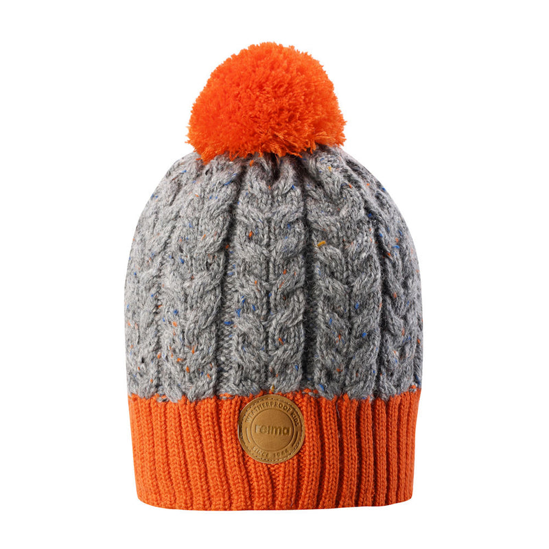 Reima Kids Pohjola Beanie (Orange)-Little Adventure Shop