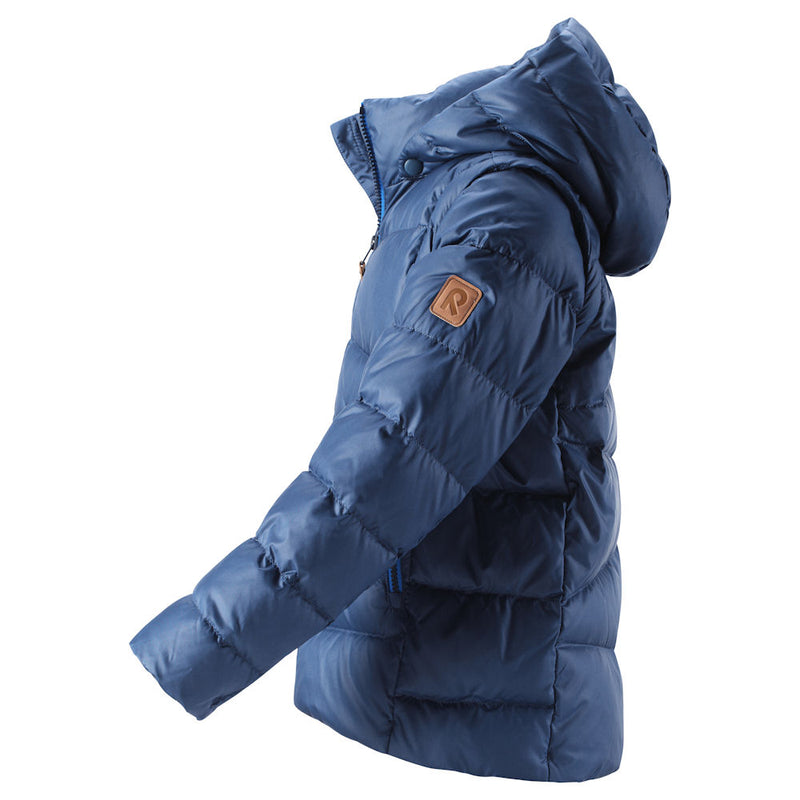 Reima Kids Martti Down Jacket (Jeans Blue)-Little Adventure Shop